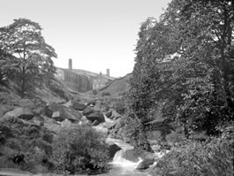 Hudson Mill from Hebden Hole